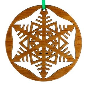 Laser Cut Christmas Ornament Spencer Halverson